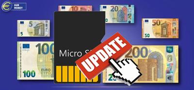 Nuevos billetes Euros Serie Europa